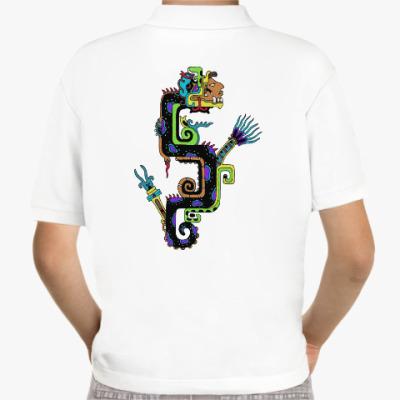 Детская рубашка поло Кетцальтоатль