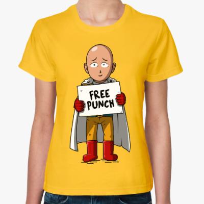 Женская футболка Ванпанчмен