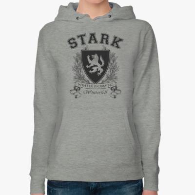 Женская толстовка худи House Stark