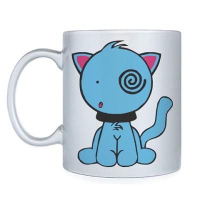 Кружка Смешной котик