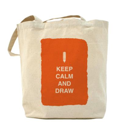 Сумка Keep calm and draw