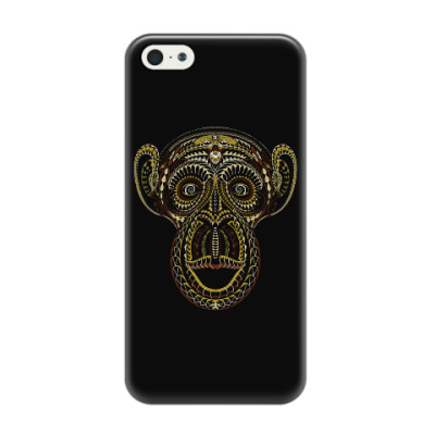 Чехол для iPhone 5/5s Обезьяна