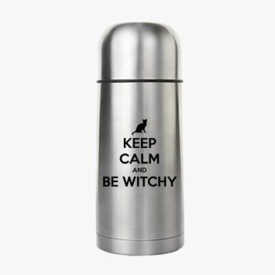 Термос Keep calm & be witchy