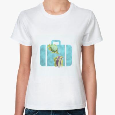 Классическая футболка Suitcase/Чемодан