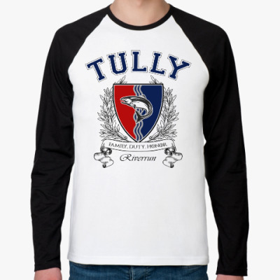 Футболка реглан с длинным рукавом House Tully