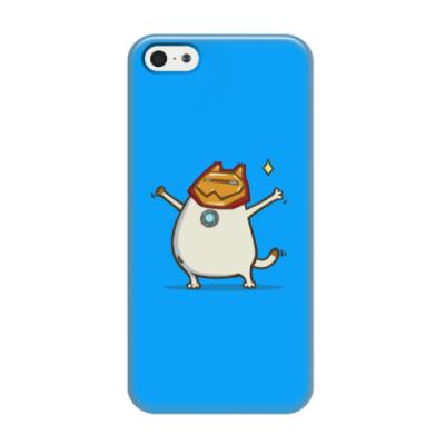 Чехол для iPhone 5/5s Айронкот — Пятничный Котик №32