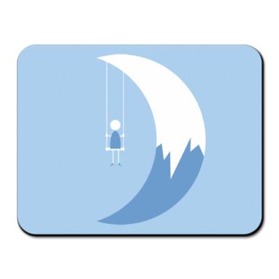 Коврик для мыши Качели на Луне