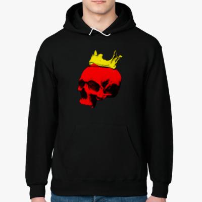 Толстовка худи Череп короля