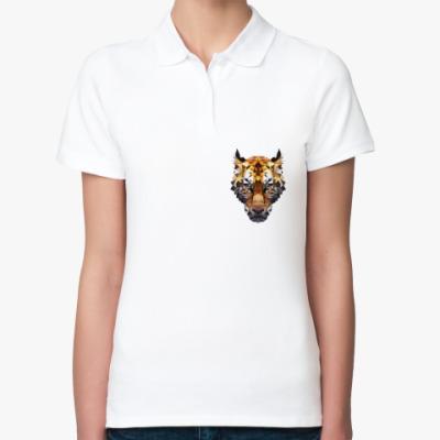 Женская рубашка поло Тигр / Tiger
