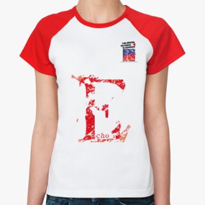 Женская футболка реглан Морской флаг «Echo»