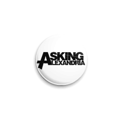 Значок 25мм Asking Alexandria