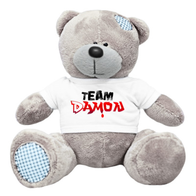 Плюшевый мишка Тедди Мишка Team Damon