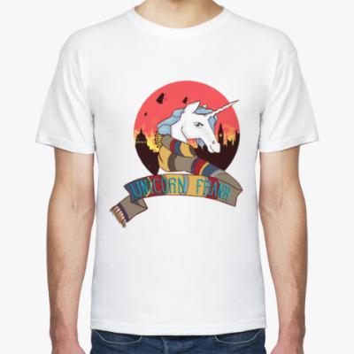Футболка Рождественский Единорог в стиле Доктора Кто