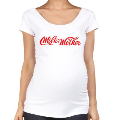 Футболка для беременных Milk Mother