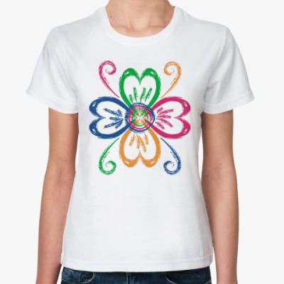 Классическая футболка Четырёхцветик