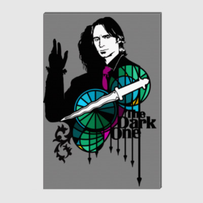 Холст The Dark One