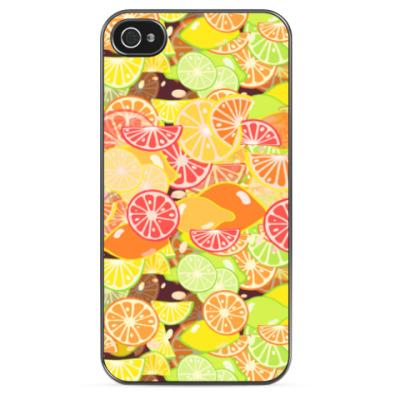 Чехол для iPhone Апельсиновый дождик!