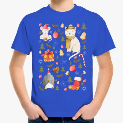 Детская футболка Happy New Year