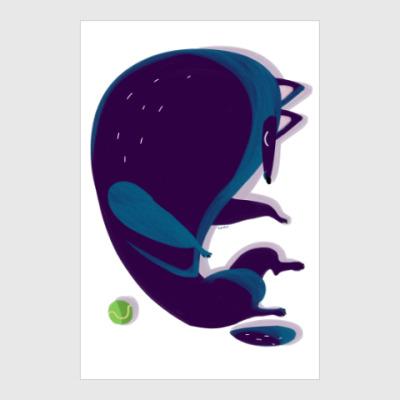 Постер Спящий грюнендаль