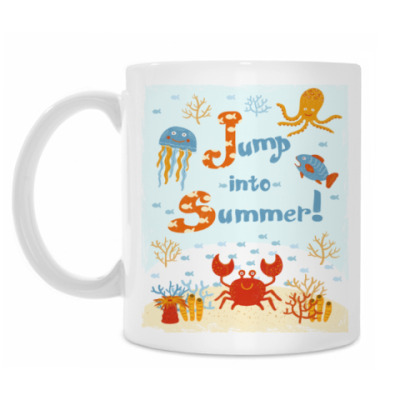 Кружка Jump into summer!