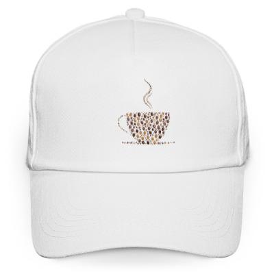 Кепка бейсболка Кофе из кофейных зерен
