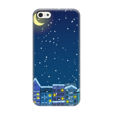Чехол для iPhone 5/5s Вечер