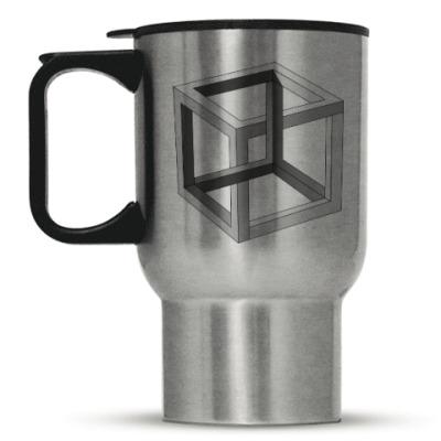Кружка-термос Невозможный Куб 3D