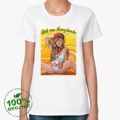 Женская футболка из органик-хлопка Мороженко