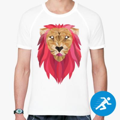 Спортивная футболка Лев / Lion