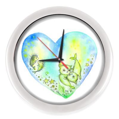Настенные часы Море Любви