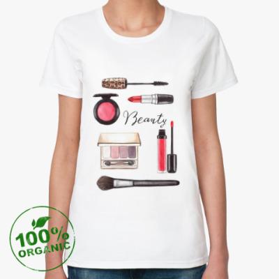 Женская футболка из органик-хлопка Beauty