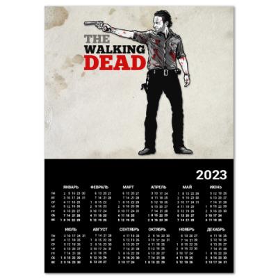 Календарь The Walking Dead