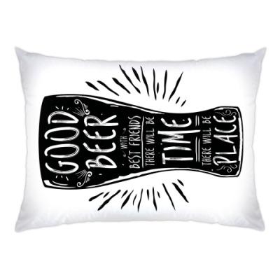 Подушка Весёлая кружка (funny mug)