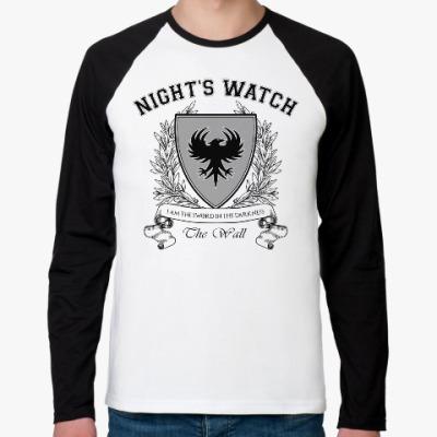 Футболка реглан с длинным рукавом Night's Watch
