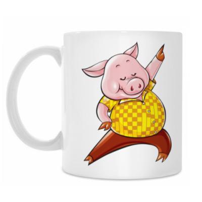 Кружка Dancing Pig