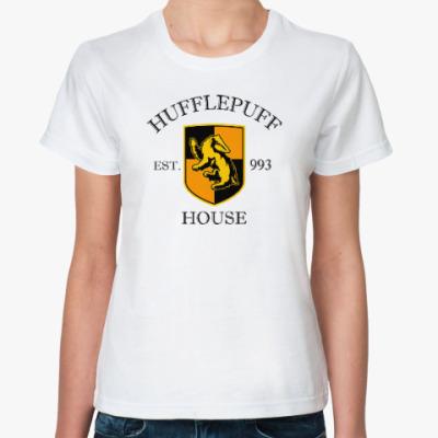 Классическая футболка Hufflepuff