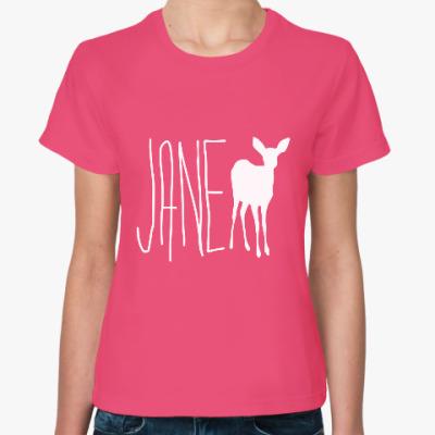 Женская футболка JANE DOE