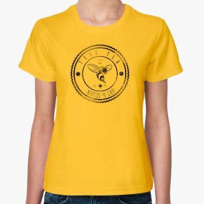 Женская футболка логотип True10art