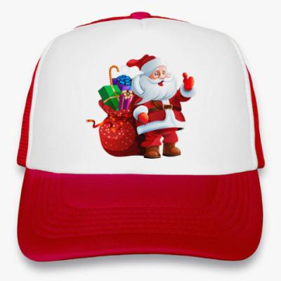 Кепка-тракер Дед Мороз