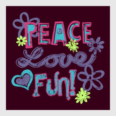 Постер Мир, Любовь, Веселье!