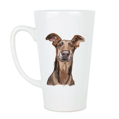 Чашка Латте Пёс