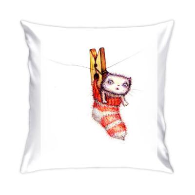 Подушка Котёнок в носке