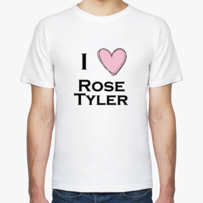 Футболка I <3 Rose Tyler