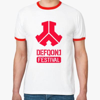 Футболка Ringer-T Defqon.1