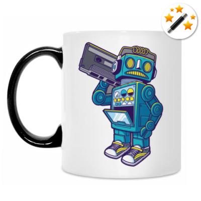 Кружка-хамелеон Music Robot