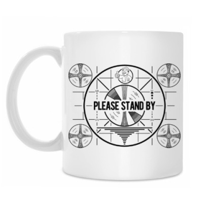 Кружка Fallout. Please stand by