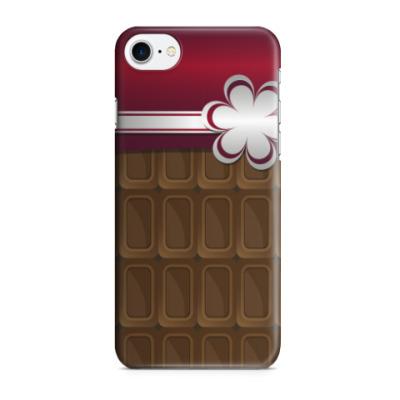 Чехол для iPhone 7/8 шоколадка