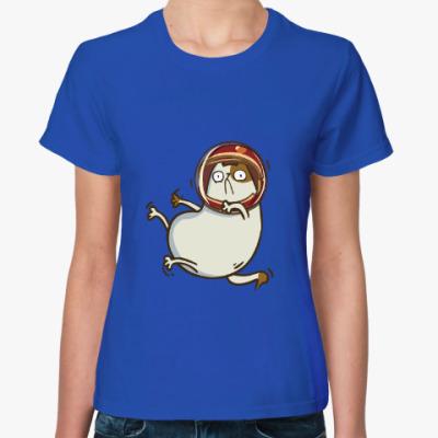 Женская футболка Астрокот (№26)