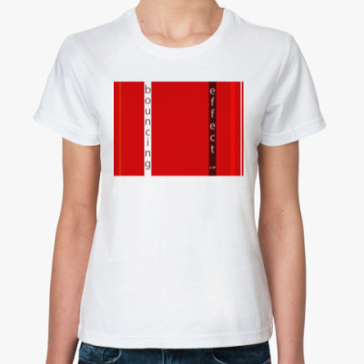 Классическая футболка Barnett Newman's bouncing effect
