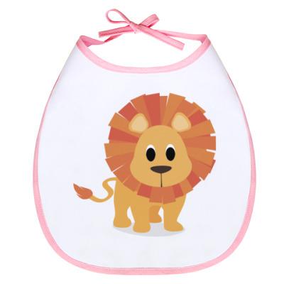 Слюнявчик Baby lion